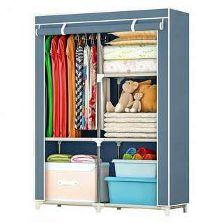 LARGE WARDROBE WITH SPACIOUS STORAGE AND STRONG STEEL