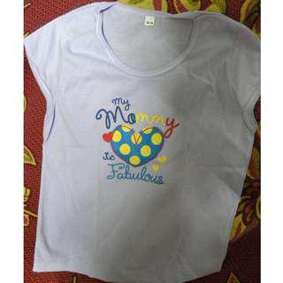 "Violet shirt ""My Mommy is fabulous"""