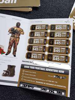 Cheap Paintball Tickets