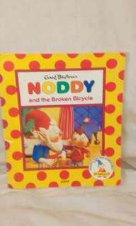 Noddy and the broken bicycle book