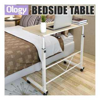 3 Colors! Bedside Table Space Saving Adjustable Study Desk