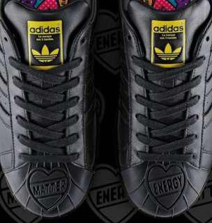 PHARRELL WILLIAMS × ADIDAS Superstar Matter Energy