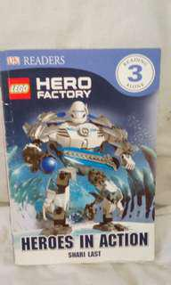 Lego hero factory story book