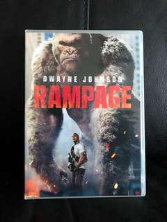 WTS Used Authentic DVD Movie - Rampage