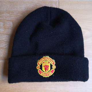 🚚 曼聯官方 冷帽黑色 Manchester United official hat fans black