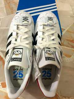 Adidas superstar limited edition nigo bearfoot