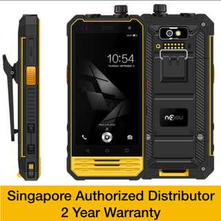🚚 Nomu T18S - industrial work smartphone with Singapore warranty