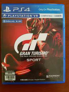 Pre Owned Grand Turismo Sport for PS4