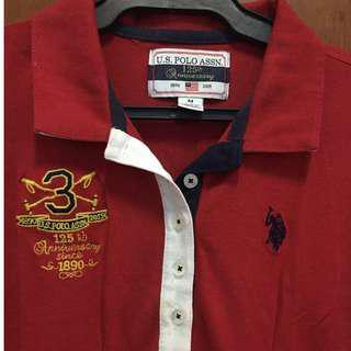 Original Polo Red Dress (medium) Repriced