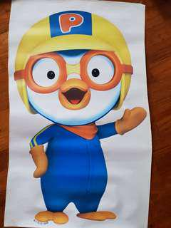 Pororo & Petty Wall Decal Stickers