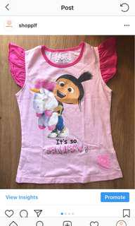 Despicable Me Agnes USS shirt