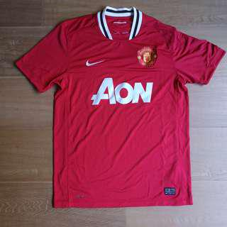 🚚 曼聯 Nike 主 無號碼 Manchester United 球衣 男裝 中碼 正版 jersey man