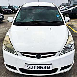 Proton Exora 7 Seater for Rent