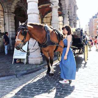 🚚 日本🇯🇵高質感 牛仔布洋裝
