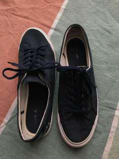 Lacoste Lancelle Lace 6 Eye Navy shoe