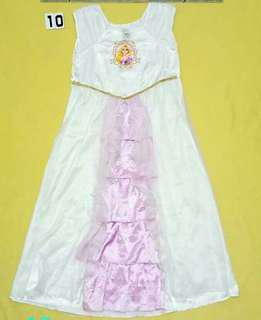 Rapunzel princess costume(4 to 8yrs old)