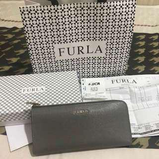 Furla babylon zip wallet