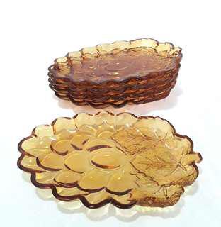 Dessert Plate - Grapes Design