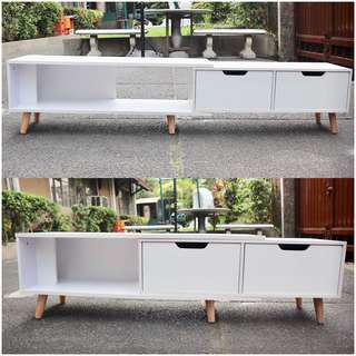 Adjustable console Tv Table