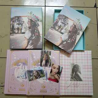 Jessica Jung SOLO Album SET