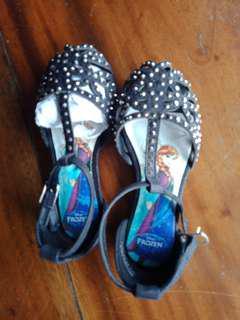 New Black Sandals Size 7