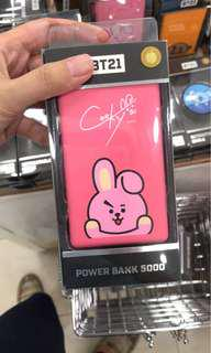 BT21 Cooky 5,000 mAh Powerbank