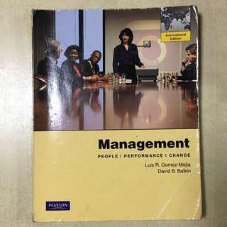 Used Management International Edition Luis R, Gomez-Mejia