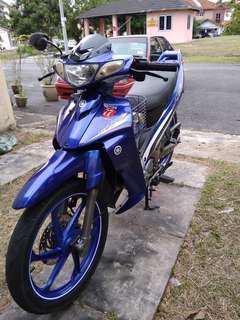 Yamaha 125zr 2013