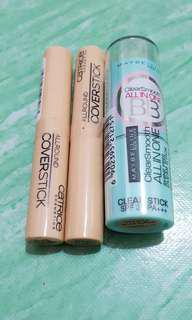 Maybelline & Catrice coverstick