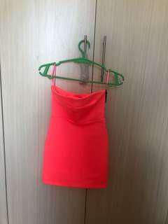 Topshop micromini dress XS