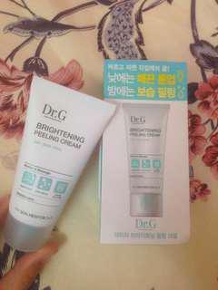 (Inc postage) Dr. G Brightening Peeling Cream #mcsbeauty
