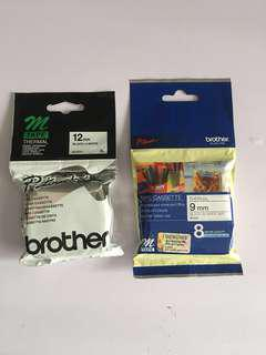 Brother P-touch tape label