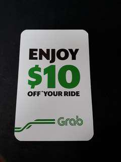 $10 Grab Promo Voucher ❤ Pickup or drop off must be at Parkway Parade
