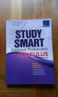 Study Smart Additional Mathematics Calculus