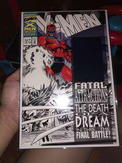 Marvel comics x-men 25, black and white version. 9.6/10 fatal attractions not dc