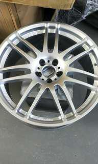 Spray Rim Hyper Silver