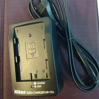 🆕 Nikon MH-18a Charger for Nikon D90 and other models