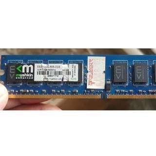 2GB DDR2 800 Mushkin brand