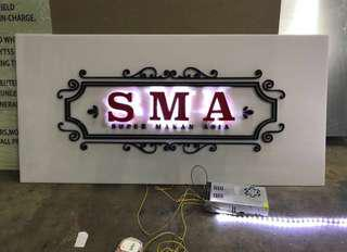 Custom Signboards, LED, Banners and more