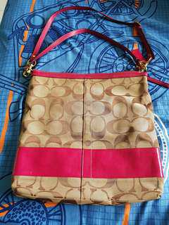 Authentic 2 way coach bag