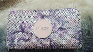 Mimco mesh zip wallet