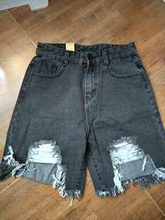 Korea denim shorts jeans pants
