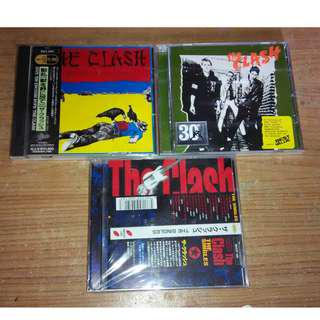 The Clash Cd's LOT SALE (3 CDS)