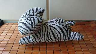 Stuffed Grey Cat Plush Toy (with black stripes) 灰底黑紋貓毛公仔