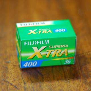 FRESH 35mm Film: Fuji Superia Xtra 400 36 Shots
