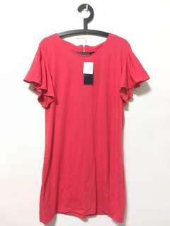 BNWT Frill Short Sleeve Dress
