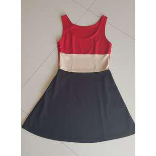 3colours dress