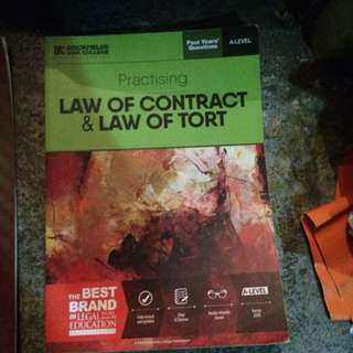 Law of Contract & Law of Torts(A-levels)