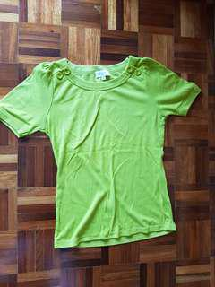 Seed M size Flexible Green shirt