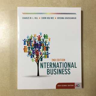 International Business 2nd Edition (like new)